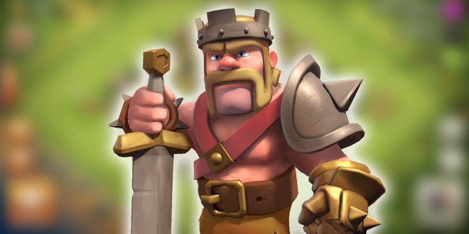 Король варваров в Clash of Clans